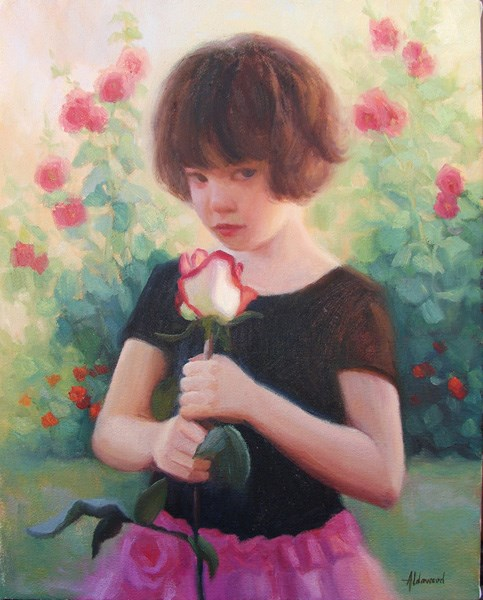 """After the Dance Recital"" original fine art by Sherri Aldawood"