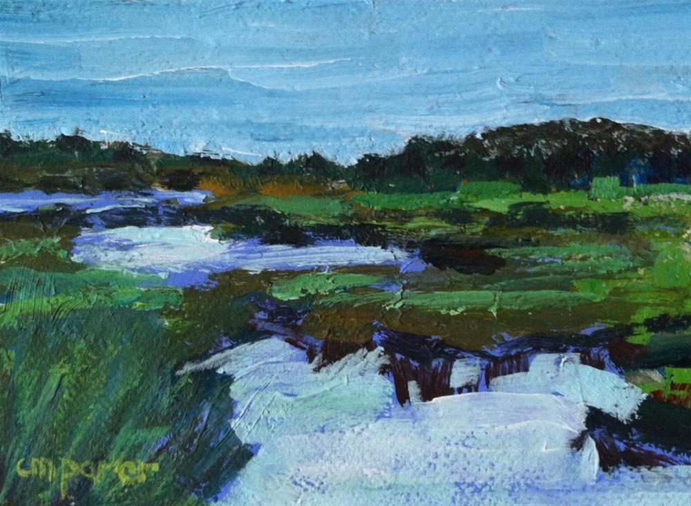 """Cape Cod"" original fine art by Christine Parker"