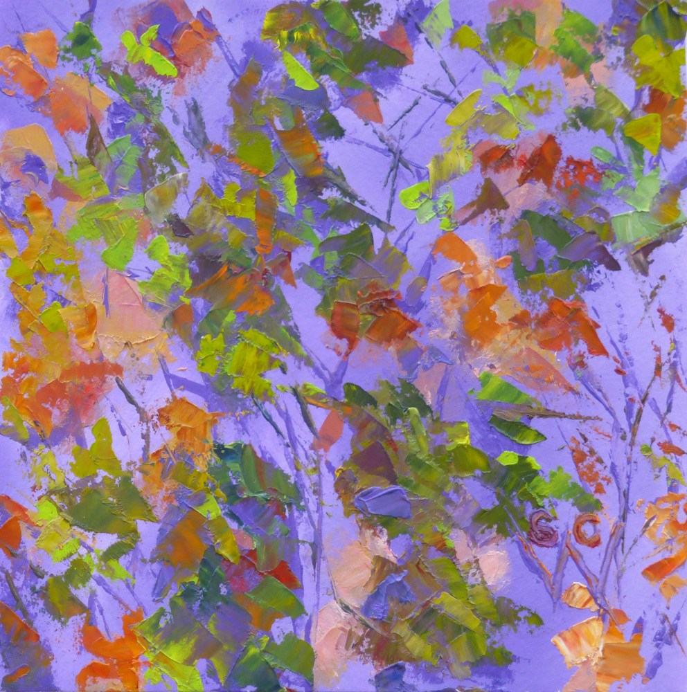 """Tapestry"" original fine art by Susan Woodward"