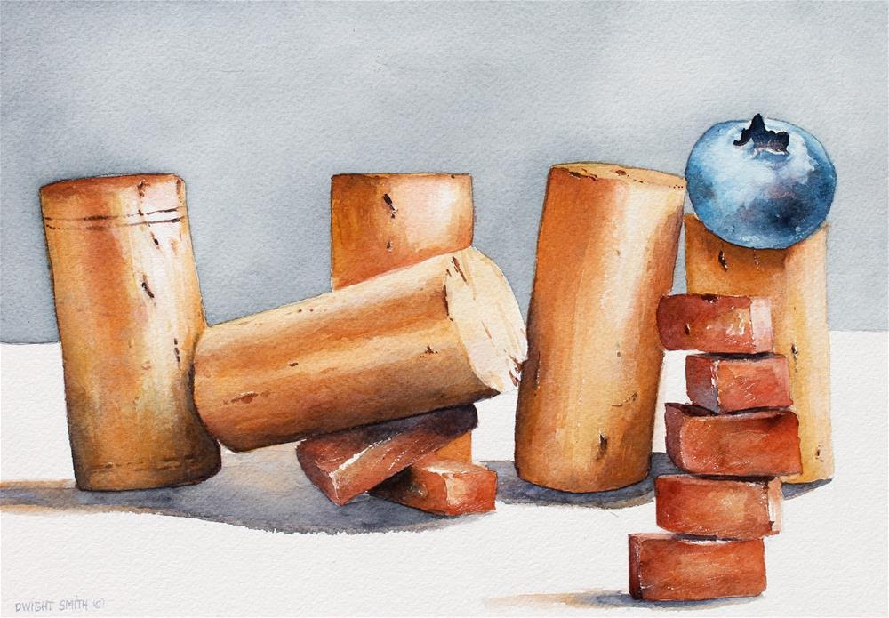 """ NOT FALLING "" original fine art by Dwight Smith"