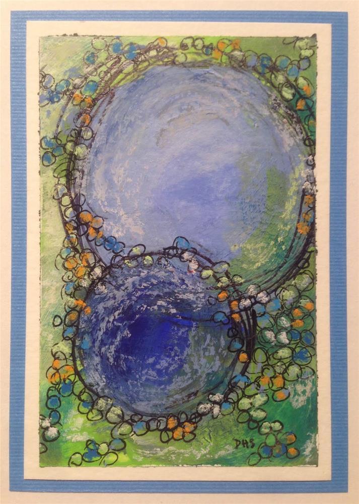 """""""Arrival"""" original fine art by Dotty  Seiter"""