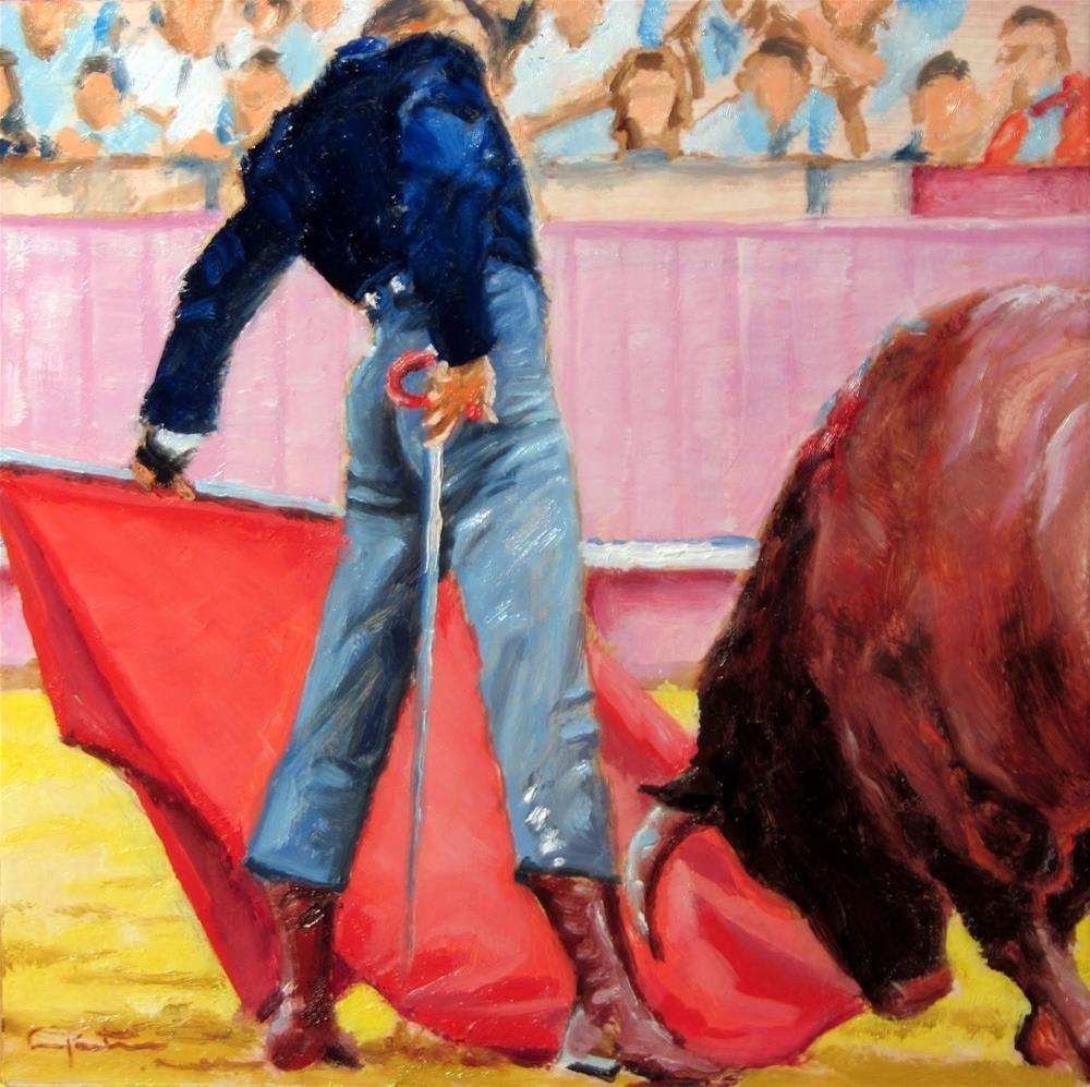 """""""Bonito natural"""" original fine art by Eduardo Carpintero"""
