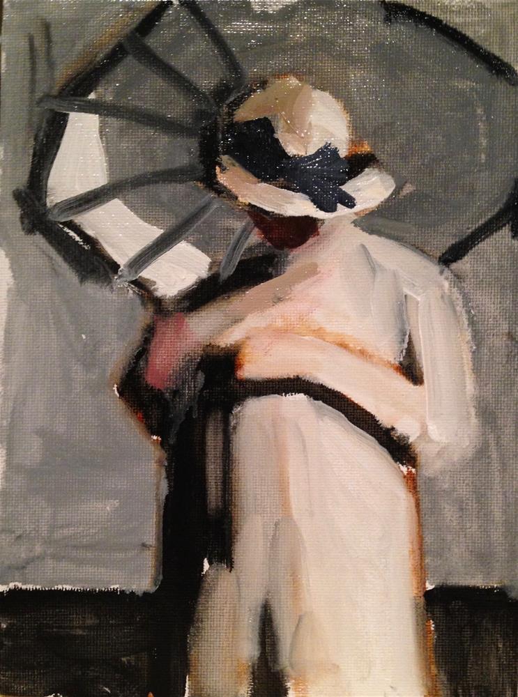"""Grisaille"" original fine art by Pamela Hoffmeister"