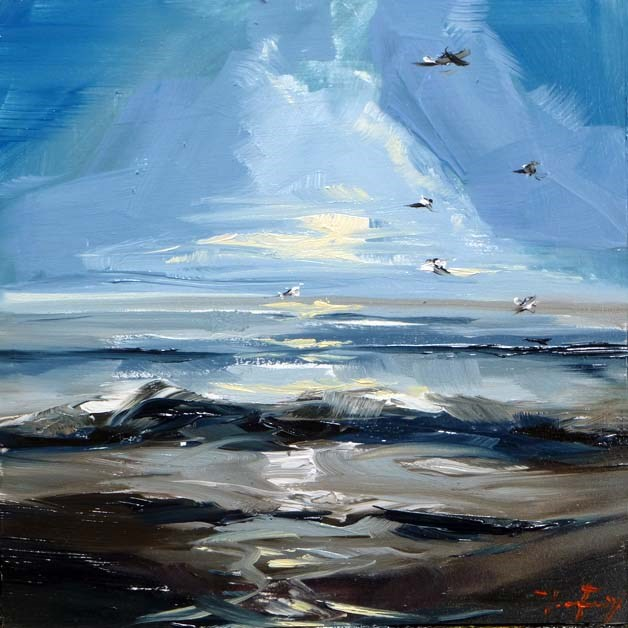 """Nordsee"" original fine art by Jurij Frey"