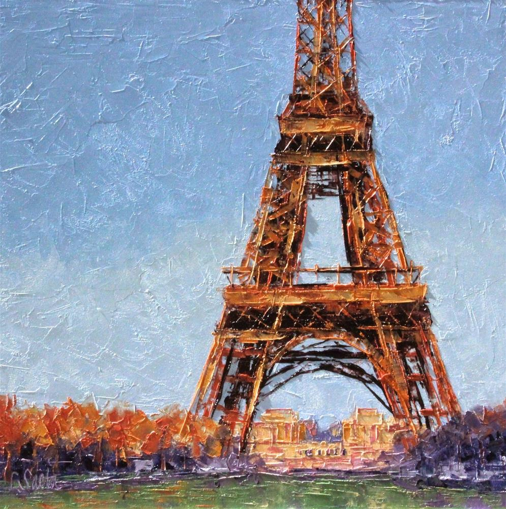 """Remembering Paris - SOLD"" original fine art by Leslie Saeta"