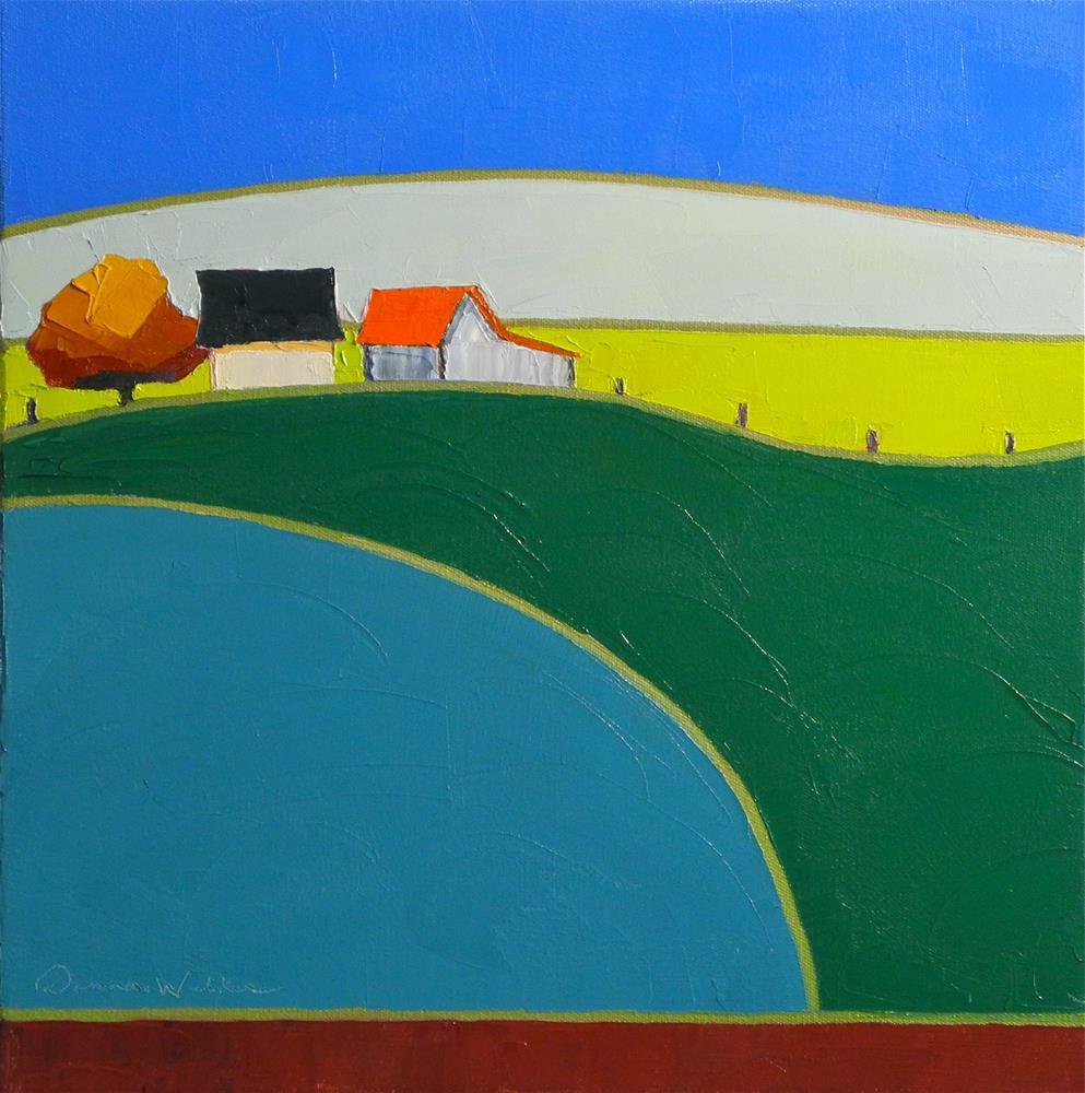"""Giants in the Land"" original fine art by Donna Walker"