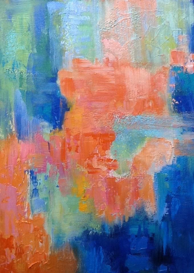 """""""Dimensions"""" original fine art by Jean Fitzgerald"""