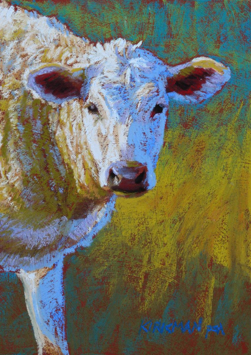 """Vanilla"" original fine art by Rita Kirkman"
