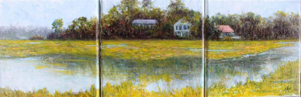"""Rhythm of the Edisto"" original fine art by barbara yongue"
