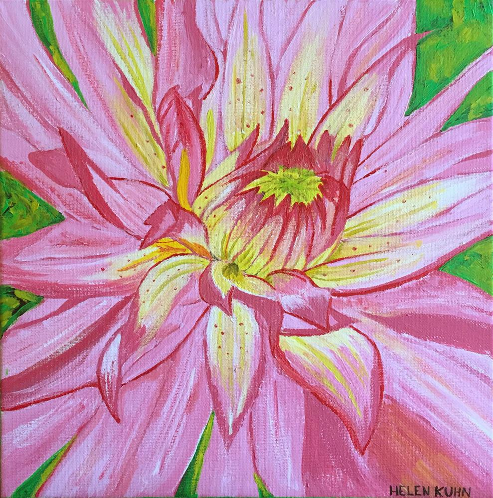 """Isabella's Flower"" original fine art by Helen Kuhn"