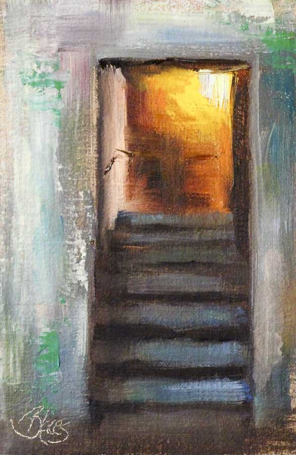 """Inviting"" original fine art by Pamela Blaies"