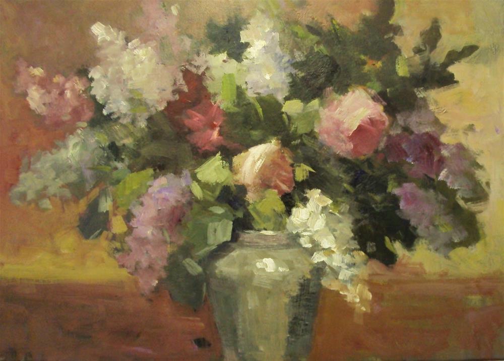 """""""spring colours"""" original fine art by Parastoo Ganjei"""