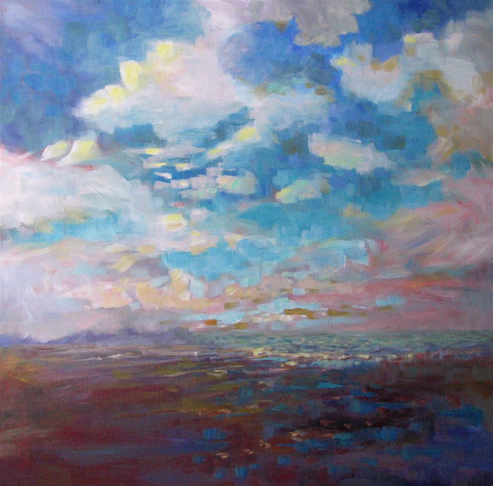 """Beach Magic"" original fine art by Melissa Gannon"