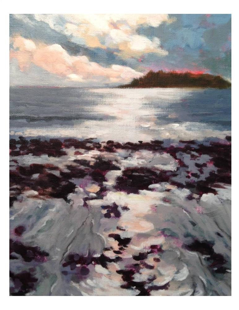 """Crescent Beach Morning"" original fine art by Suzanne Woodward"