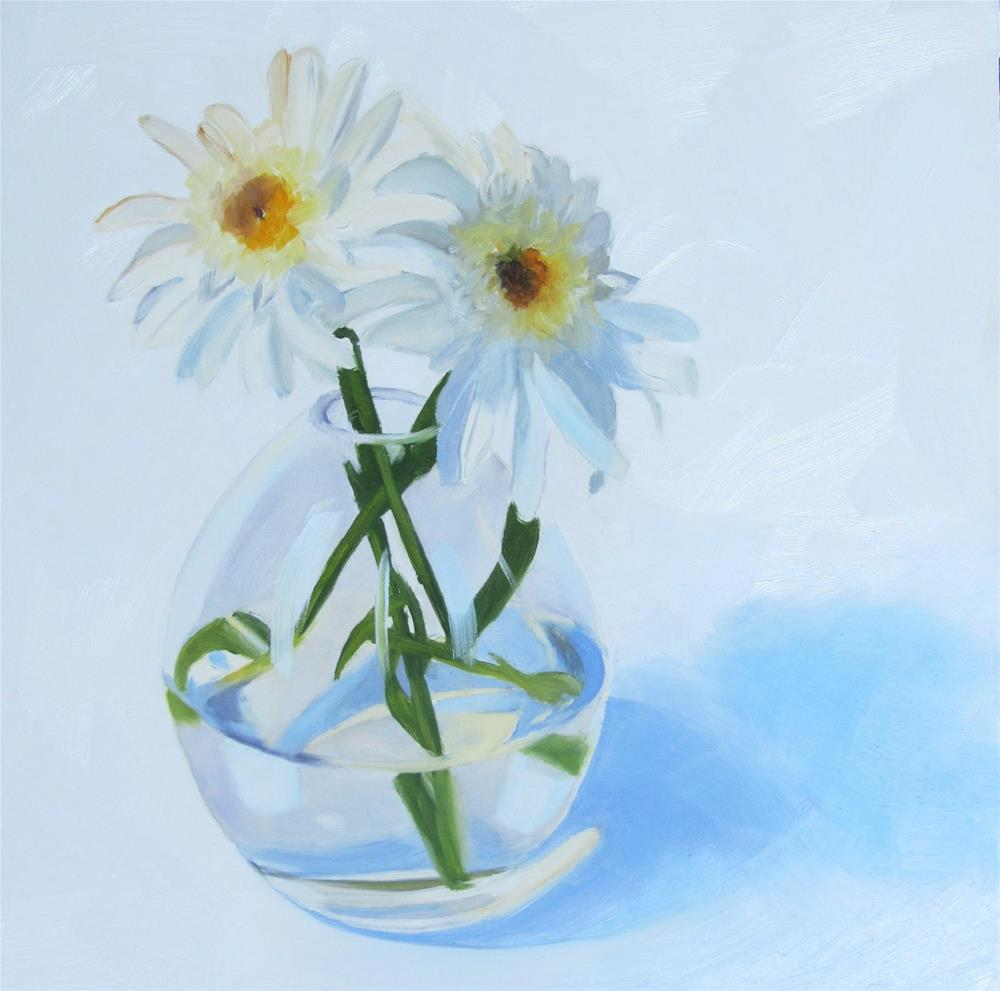 """Daisy Duet"" original fine art by Amy Hillenbrand"