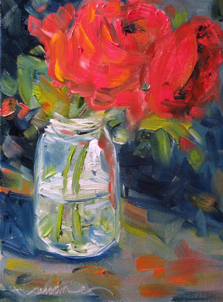 """Valentine Rose"" original fine art by Susan Elizabeth Jones"
