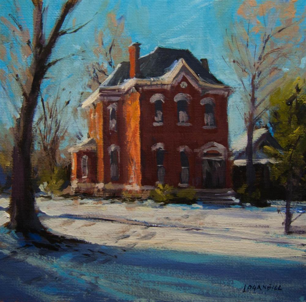 """Late Winter Morning"" original fine art by Joseph Loganbill"