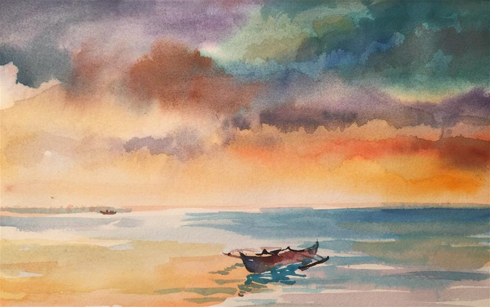 """Serenity Series 01"" original fine art by Ann Buenaventura"
