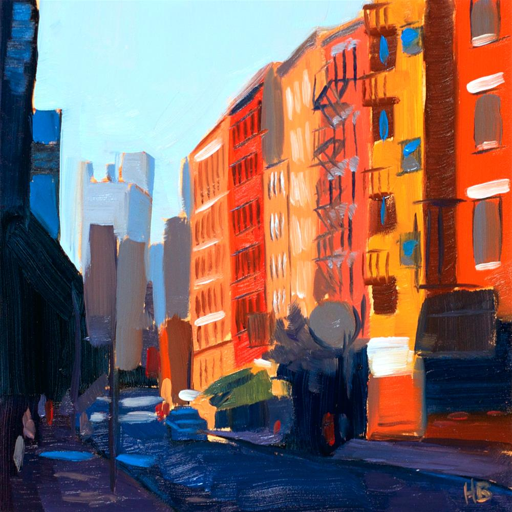 """Little Italy, NYC"" original fine art by Heather Bullach"