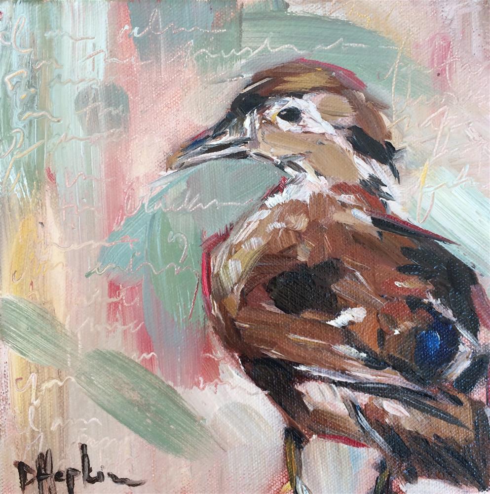 """Be A Duck"" original fine art by Denise Hopkins"