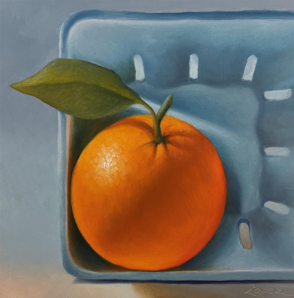 """32. From Papa's Tree"" original fine art by Gema Lopez"