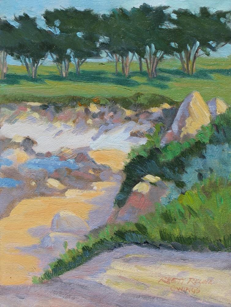 """""""Rocky Coast"""" original fine art by Rhett Regina Owings"""