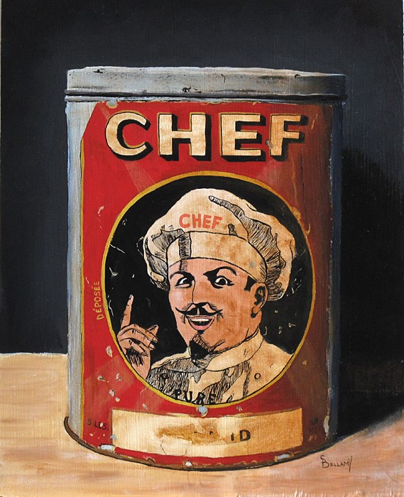 """Chef!"" original fine art by Sherry Bellamy"