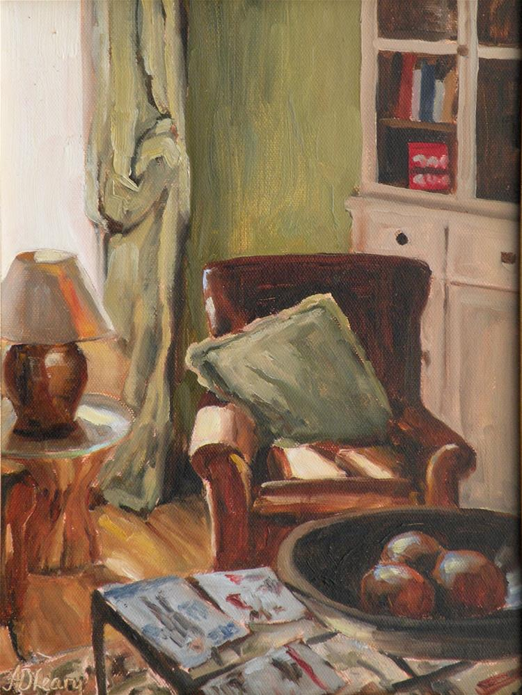 """Vannuchi Hotel"" original fine art by Alice O'Leary"