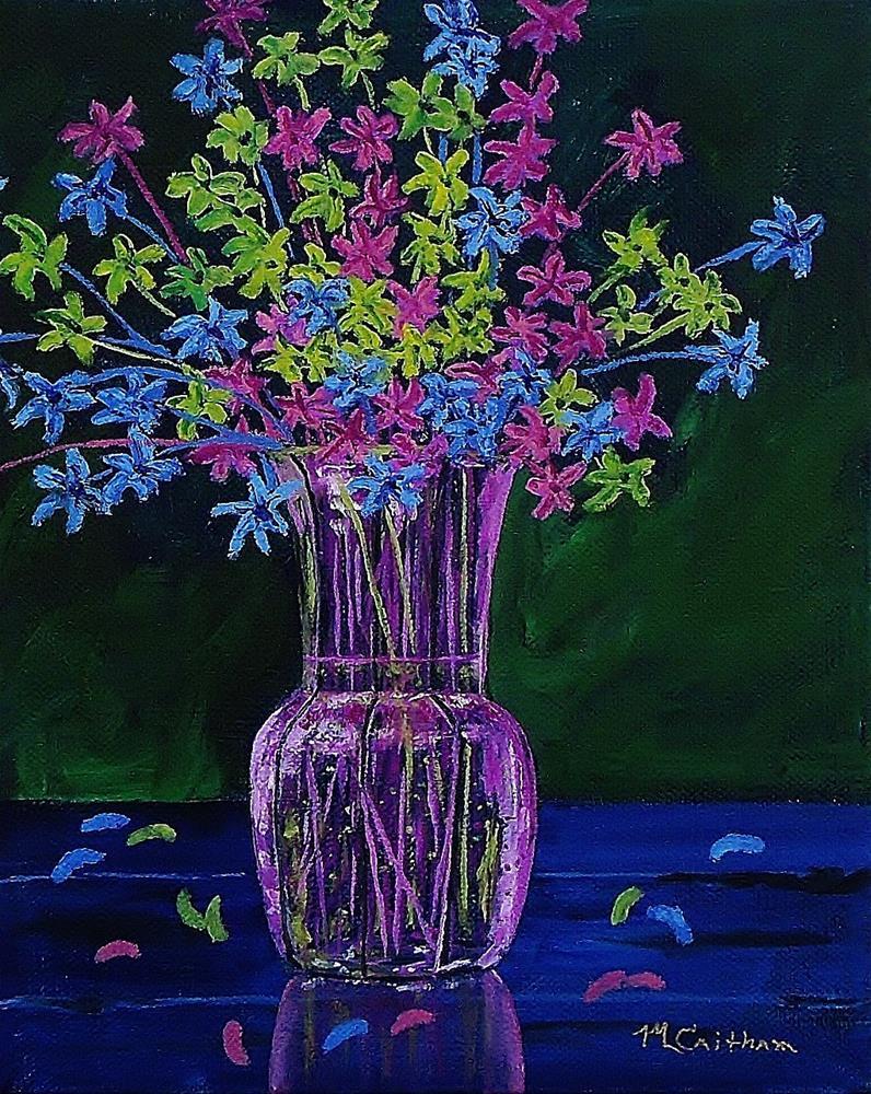 """""""Aberrant Beauty"""" original fine art by Mike Caitham"""