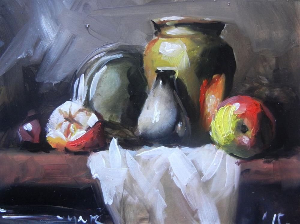 """My table"" original fine art by Dragan Culjak"