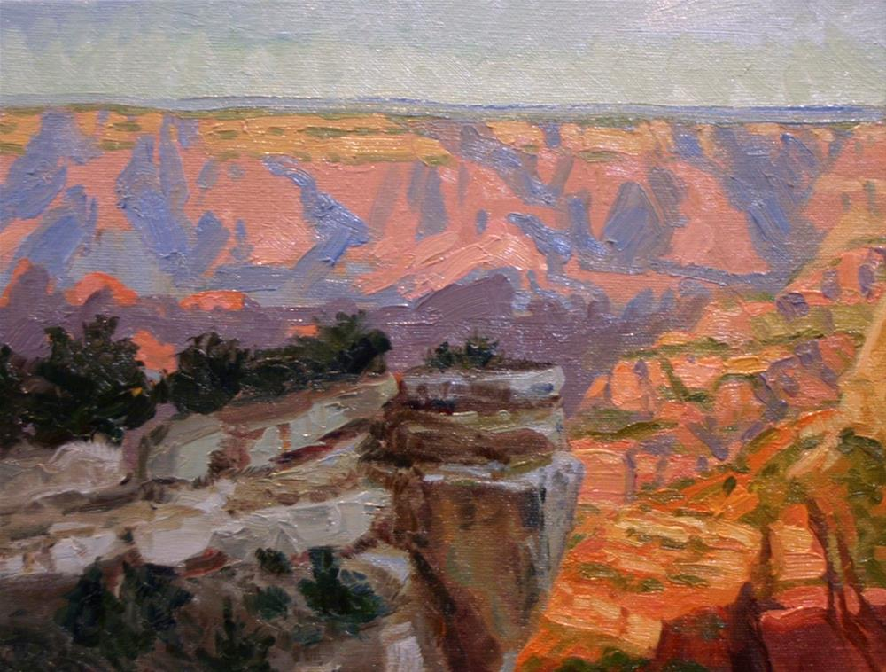 """Grand Canyon Splendor"" original fine art by K.R. McCain"