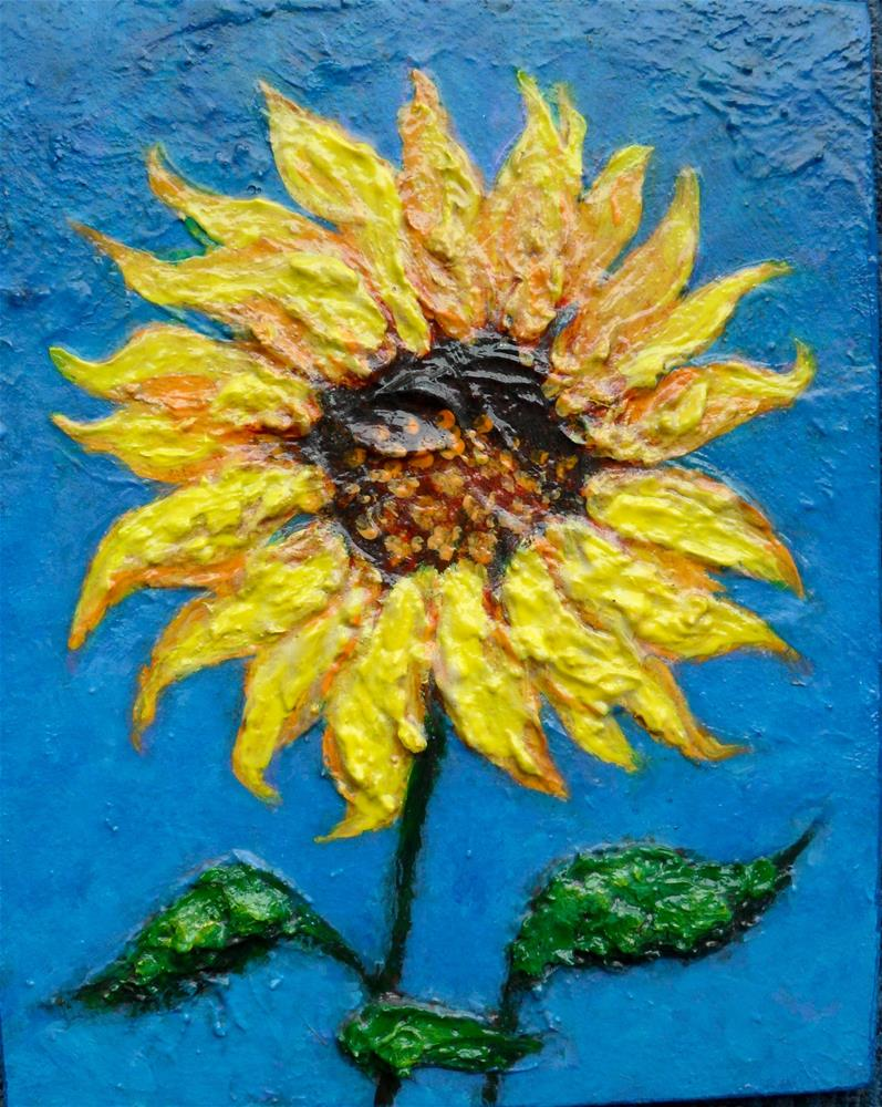 """Sunny"" original fine art by Karen Roncari"
