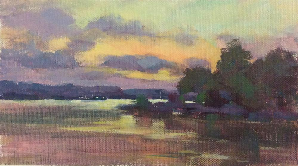 """Along The Volger"" original fine art by John Shave"