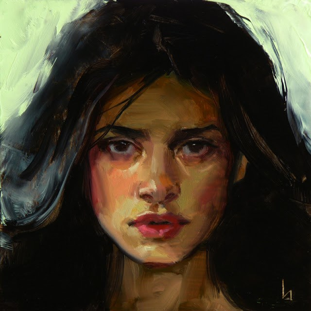 """Brewing"" original fine art by John Larriva"