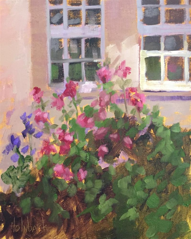 """Summer Blooms"" original fine art by Pam Holnback"
