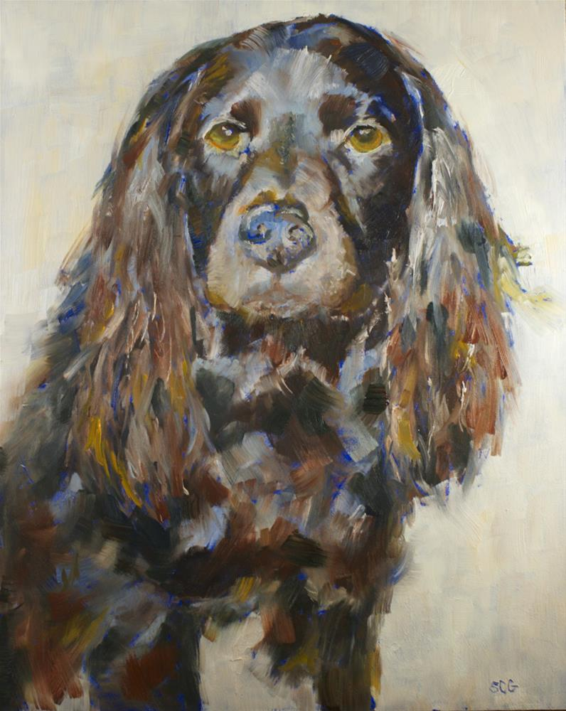 """Pet #9: True Beauty"" original fine art by Sue Churchgrant"