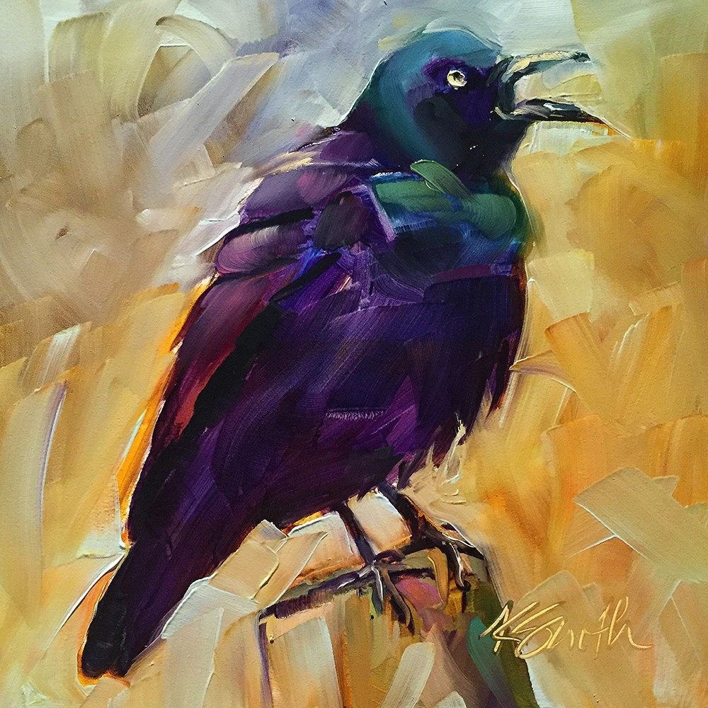 """rabble-rouser"" original fine art by Kim Smith"