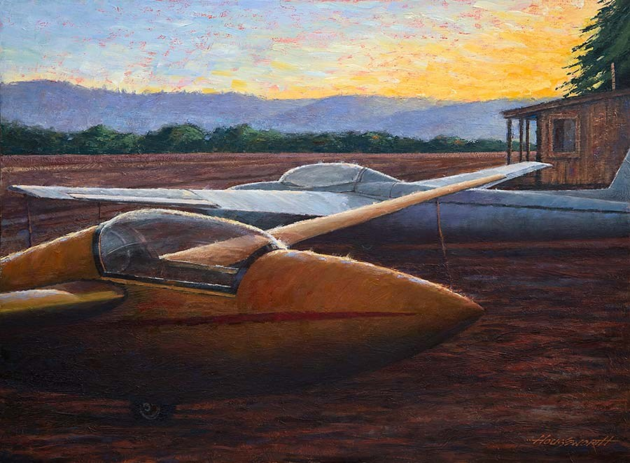 """Sight for Soar Eyes"" original fine art by Terry Houseworth"