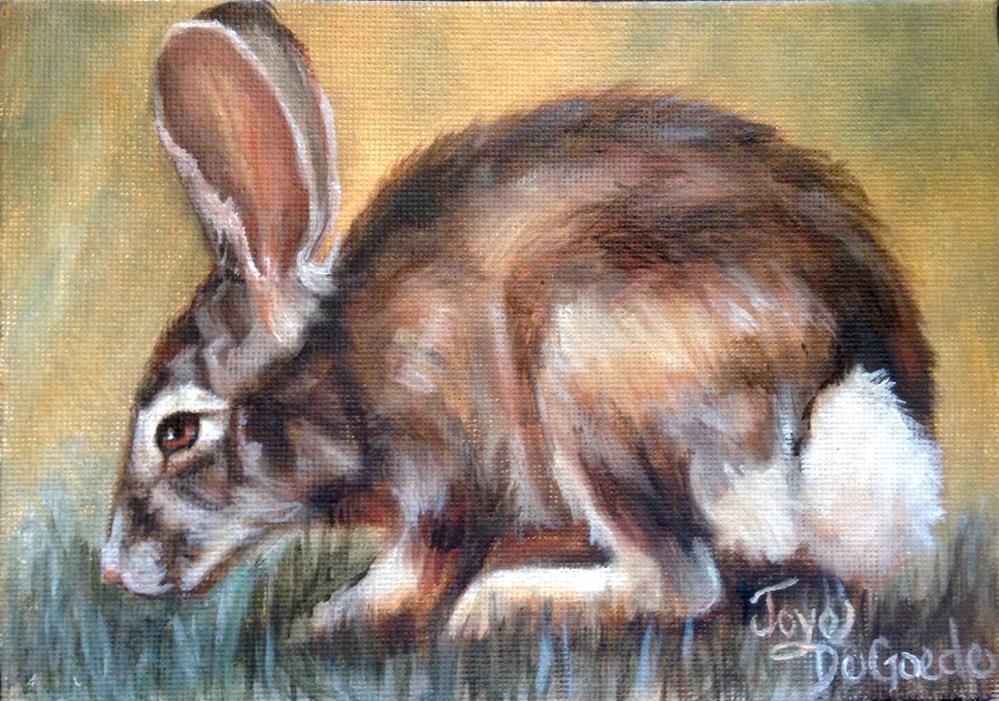 """""""I Smell Carrots by Joye DeGoede"""" original fine art by Joye DeGoede"""