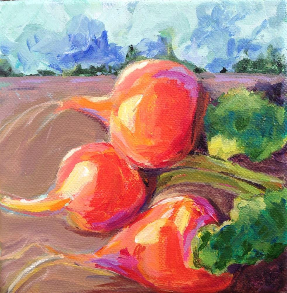 """Beets #2"" original fine art by Beth Carrington Brown"