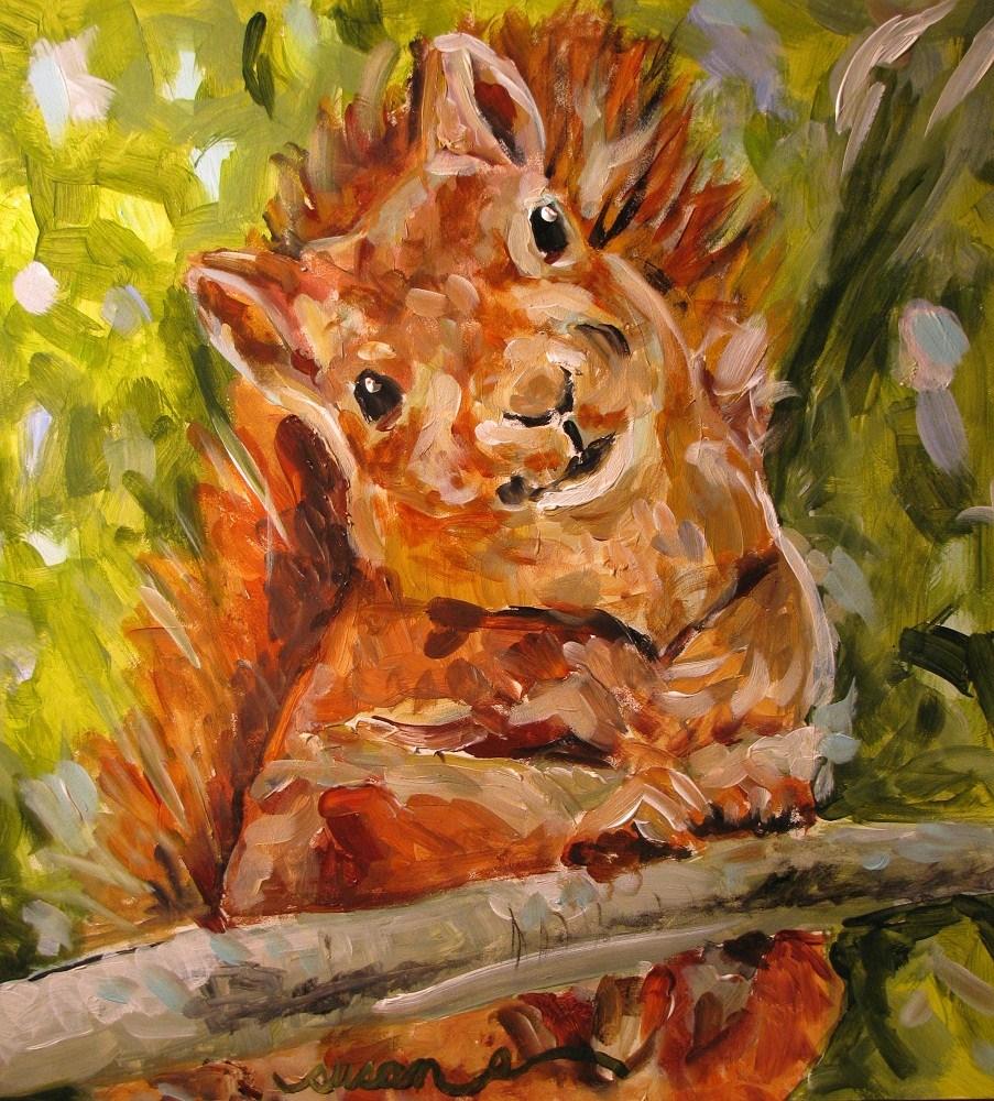"""Sampson"" original fine art by Susan Elizabeth Jones"