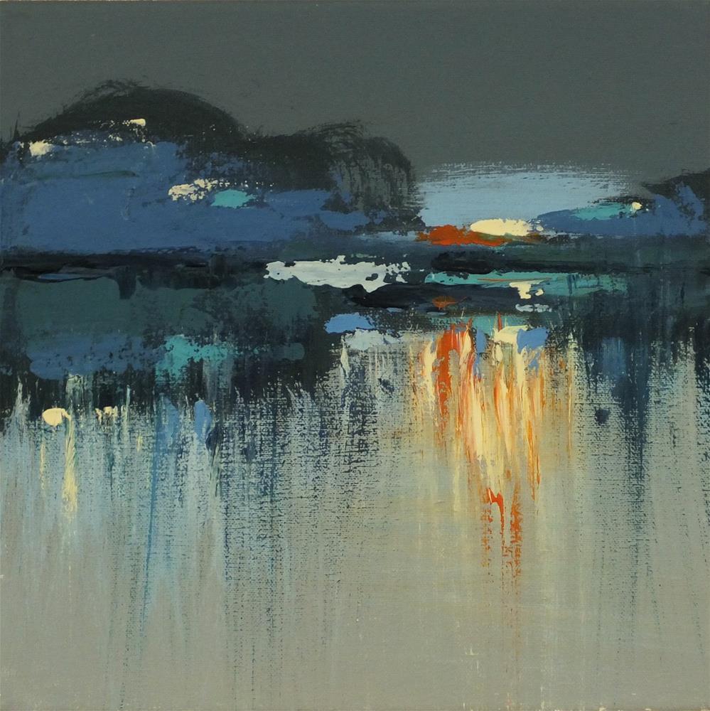"""Landscape 135"" original fine art by Ewa Kunicka"