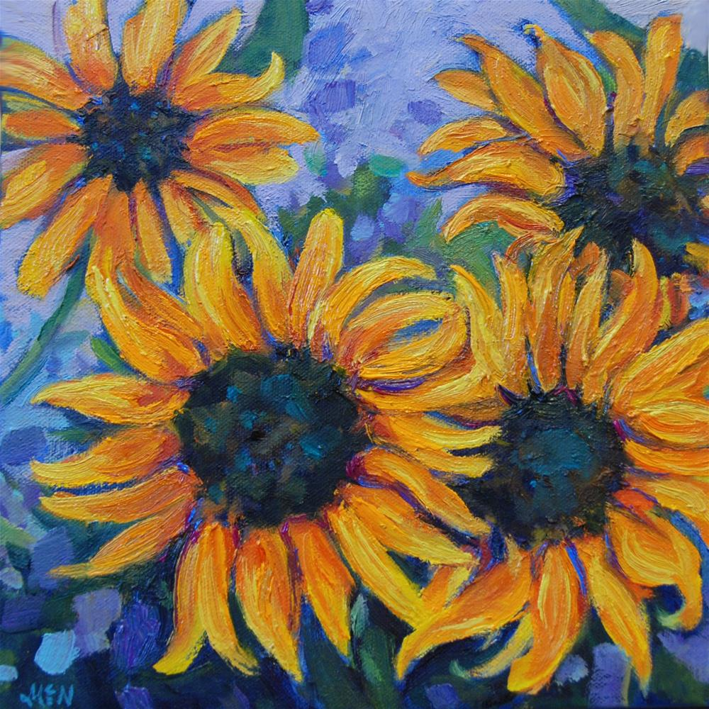 """Sunny Harvest"" original fine art by Michel McNinch"