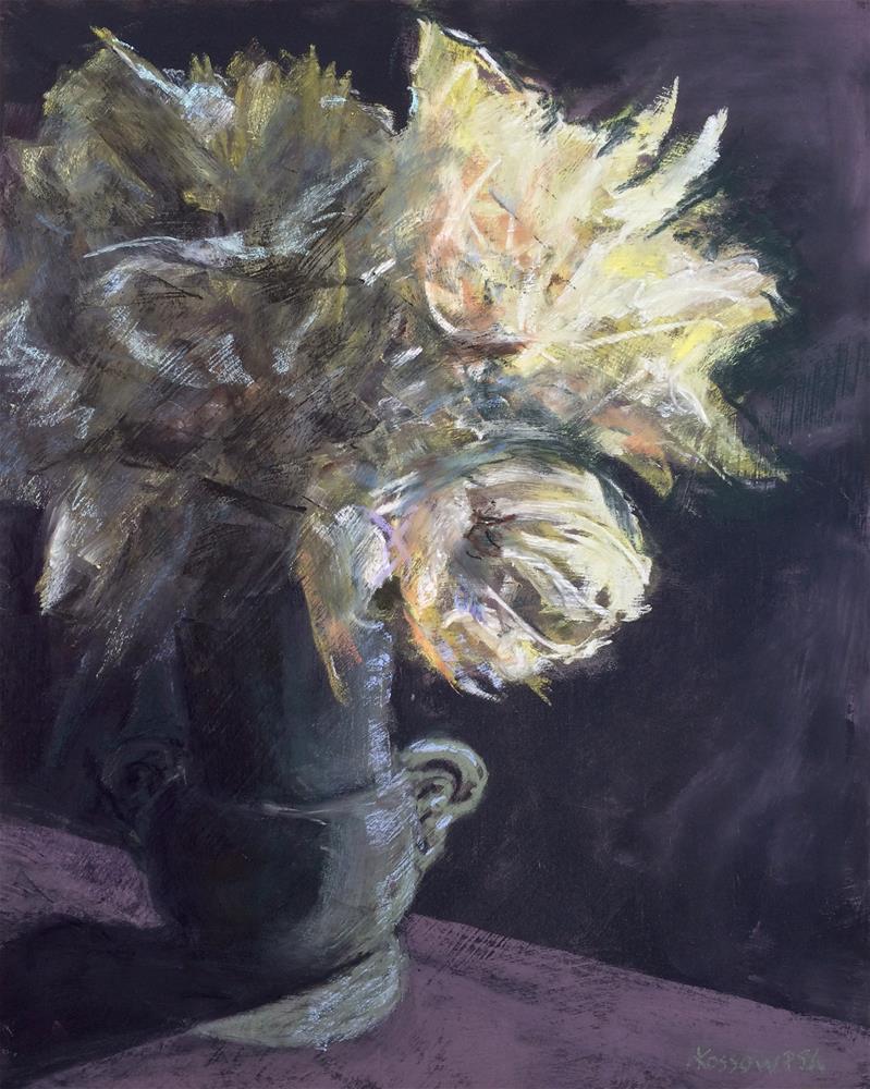 """Spring Flowers"" original fine art by Cristine Kossow"