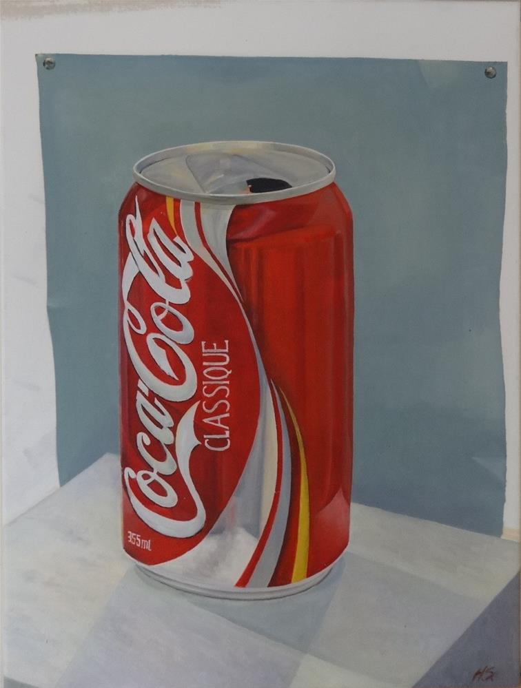 """Coca-Cola"" original fine art by Hansen Tsien"