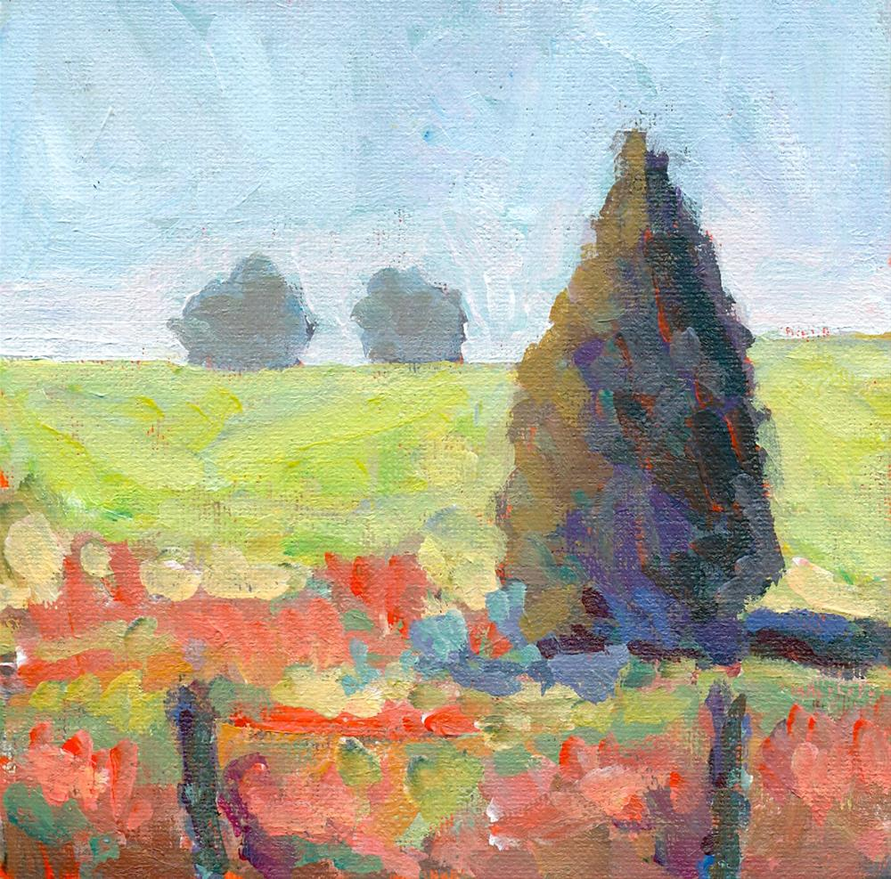 """Campbell Valley Park #4"" original fine art by Shelley Garries"