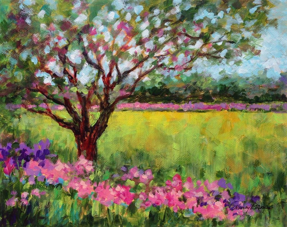 """Untitled"" original fine art by Nancy F. Morgan"