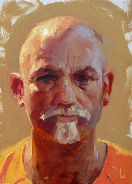 """Orange Juice"" original fine art by John Larriva"