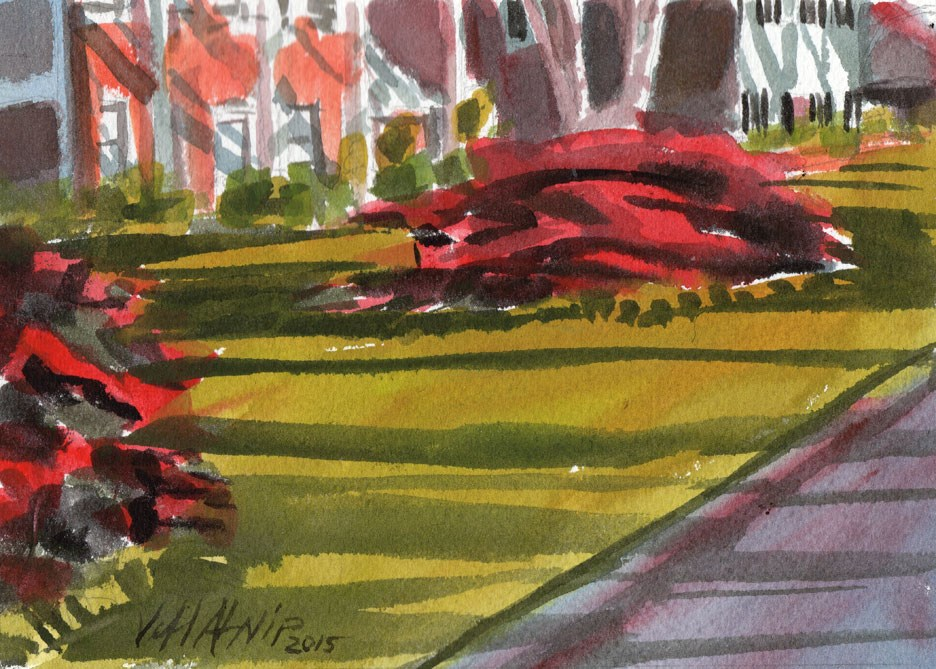 """Quick Azaleas"" original fine art by Jeff Atnip"