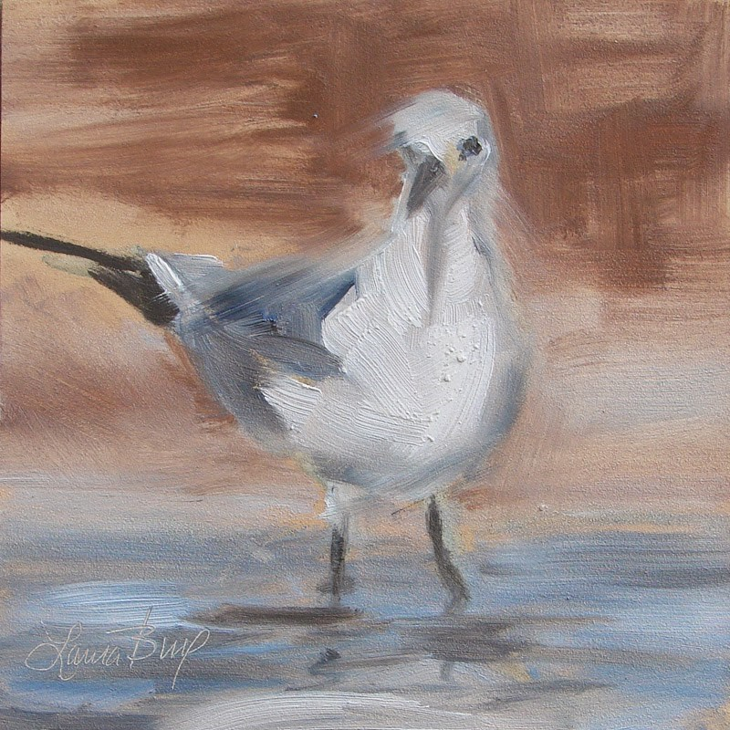 """You Lookin' at Me? 267"" original fine art by Laura  Buxo"